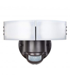 Defiant 180 Degree Bronze Motion Outdoor Integrated LED Security Light