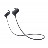 Sony Extra Bass Bluetooth Headphones, Best Wireless Sports Earbuds with Mic/Microphone, IPX4 Splashproof Stereo Comfort Gym Running Workout up to 8.5 hour battery, black
