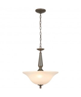 Commercial Electric 1000016258 3-Light Oil Rubbed Bronze Pendant